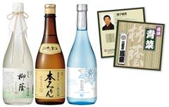 柳蔭・伝統本みりん・夏限定純米酒セットCD付